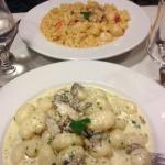 Gnocchi with forestiere sauce