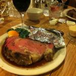 This is my small 12 oz Prime Rib.  I think it weighed more.