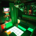 The Freon Room with its LED Touch-Activated Dancefloor