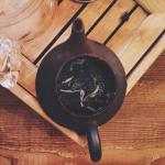 Uno dei tè che abbiamo degustato da Chà Tea Atelier.