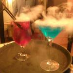 Specially created cocktails created with dry ice for that special smoky effect!