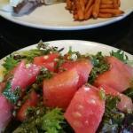 Watermelon Chimichurri Salad