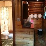 kitchen and bathroom