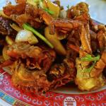 Crab with Chilli