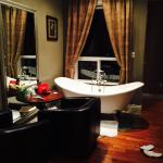 Nice relaxing hot tub