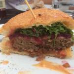 Angus Burger at Huia Foodstore