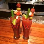 Awesome Bloody Marys!!!
