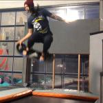 Foam board bouncing