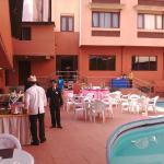 Pool Side Breakfast