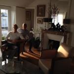 in salotto con Joszef