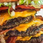 Gigantic Tower Burger