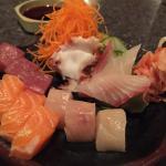 Sashimi sampler