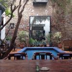 La magnifique patio...