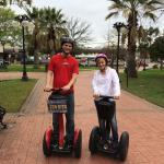 Segways at the park
