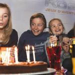 Un anniversaire enfant et ado chez Koezio