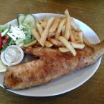 Giant  cod & chips