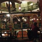 Indoor view of the restaurant