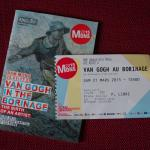 Ticket and booklet