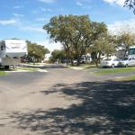 view of street in campground
