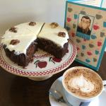 Homemade Carrot Cake with Cappuccino anyone?
