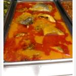 Steamed stew tilapia fish