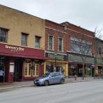 Brewery Bay on Orillia ' s main street.