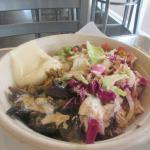 Chicken Shawarma Rice Bowl, Sajj, San Jose, Ca