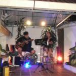 Great music on barbaque night.