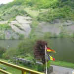 The Mosel, from the balcony