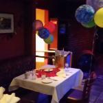 Birthday celebrations created by Zoe!!!