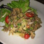 Salade de Boeuf a la citronnelle