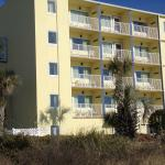 The condos from the beach