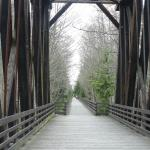Dungeness River Trestle on Olympic Discovery Trail