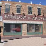 "Winslow AZ. 'The corner"" - What a fine site to see."
