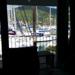 Harbor views from room 23..