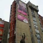 US President Clinton Statue In Pristina Kosovo