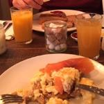 My Choice For Breakfast Smoked a Salmon and Scrambled Egg Yum!!