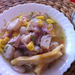 our speciality -  King fish ceviche