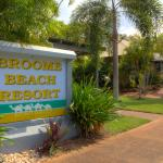 Broome Beach Resort Entrance