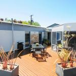 Big sunny guest deck
