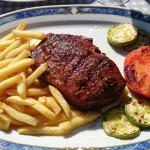 A nice and tasty piece of entrecote