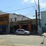 Don Quixote no centro de Caraguatatuba