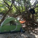 Our tent/campsite