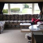 lovely clean caravan! perfect for 4 nights