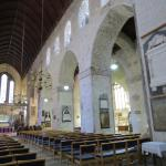 Looking east, toward the High altar, with it's 13 ft solid limestone altar.  Oldest part of the