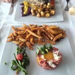 Plats du jour  - Côté de veau - Tartare italien