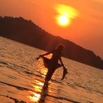 Me in the sunset