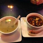 Miso and Hot and Sour Soup