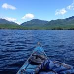Kayaking and fishing on Elk Lake