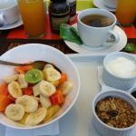 Tuti fruti au petit dejeuner